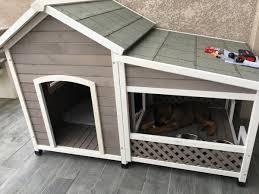 Comment Fabriquer Une Niche Pour Chien Facilement Niche Avec Terrasse Pour Chien Zimerfrei Com U003d Idées De Design