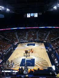 Mohegan Sun Arena Floor Plan Mohegan Sun Arena Section 101 Home Of Connecticut Sun New