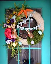 Outdoor Easter Decorations Uk by Awesome Front Door Easter Decoration Introduce Brilliant Small