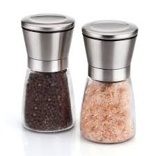 Spice Shaker Amazon Com Elegant Salt And Pepper Grinder Set Salt And Pepper