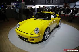 porsche yellow bird geneva 2017 ruf ctr the modern yellowbird gtspirit