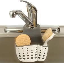 Kitchen Sink Brush Adjustable Dish Brush And Simple Kitchen Sink Holder Home Design