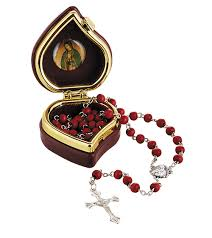 our of guadalupe rosary of guadalupe scented rosary with 12 pk