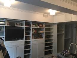 How To Build A Built In Bookcase Into A Wall Nyc Wall To Wall Closet Built In Custom Wardrobe New York City