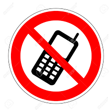 no phone sign no phone icon great for any use vector no cell