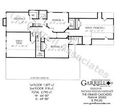 Traditional Floor Plan Grand Cascades House Plan House Plans By Garrell Associates Inc