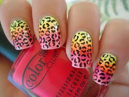 nail designs cheetah nails motive pink cheetah nail designs