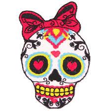 uk diy deco kawaii craft supplier sugar skull bow kitsch