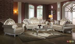 tufted living room furniture elegant metallic pearl button tufted leather formal living room sofa