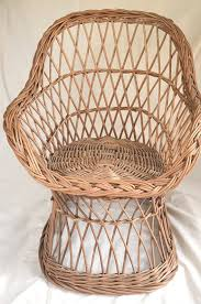 lightweight handwoven chair for kids handmade from quality willow wicker le sy and very comfortable for kids up to 7 years old but older kids