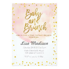 baby brunch invitations baby shower invitations announcements zazzle