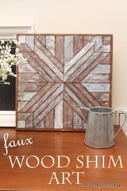 square wood wall decor wood quilt square knock the country chic cottage