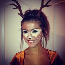Deer Halloween Makeup by Ella Wants Me To Be Bambi U0027s Mom And For Her To Be Bambi Maybe I