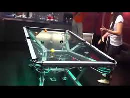 masse pool table price glass pool table is beyond awesome youtube