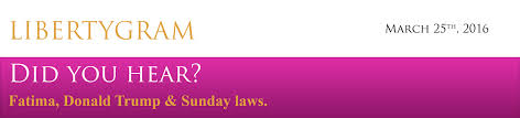 endrtimes fatima donald trump u0026 sunday laws