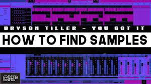bryson tiller sample reveal you got it instrumental original