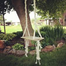tree swing macrame swing by thethrowbackdaze on etsy 125 00