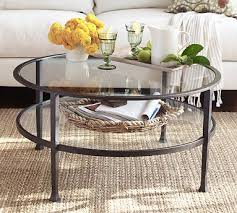 glass top end tables metal popular of round glass and metal coffee table tanner round coffee