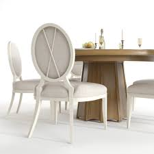 baker encircle table u0026 x back chairs