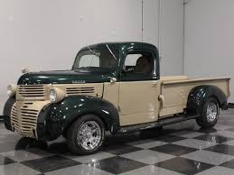 dodge truck for sale green 1946 dodge truck for sale mcg marketplace