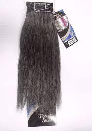 human hair in salt and pepper 12 salt n pepper human hair straight weave track grey color 44
