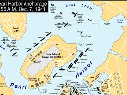 Pearl Harbor Map Pearl Harbor By Alissa Blanchard
