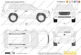 toyota land cruiser 2015 the blueprints com vector drawing toyota land cruiser j200