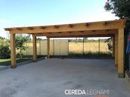 struttura in legno per tettoia prezzi tettoie in legno per esterni gallery of free box in legno