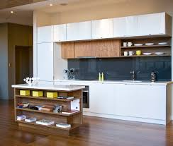 modern kitchens and bath double layer of upper cabinets with 2 different depths kitchen