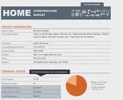 home renovation plans spreadsheet template home renovation estimate template with