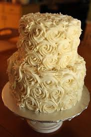 the cake box girls simple rose wedding cake