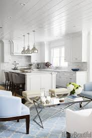 fascinating small white apartment kitchen design showing grey