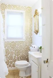 wallpaper bathroom designs 25 best rental bathroom ideas on small rental