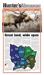 Idaho Hunting Unit Map North Central Idaho Hunter U0027s Almanac 2015 By Idaho County Free