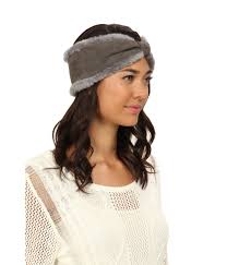 ugg sale hats ugg headband in gray lyst