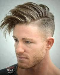 hairstyles short one sie longer than other short on the sides long on top mens hair latest men haircuts