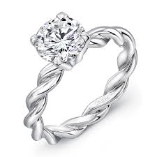 twisted band engagement ring engagement rings 6000