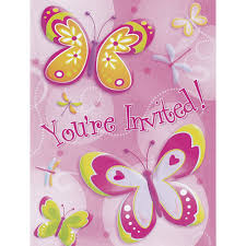 butterflies u0026 dragonflies party invitations from all you need to