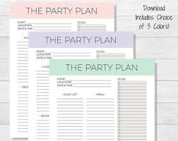 printable party planner checklist party planning checklist event planner printable birthday