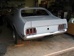 1970 mustang coupe restoration in progress ford muscle forums