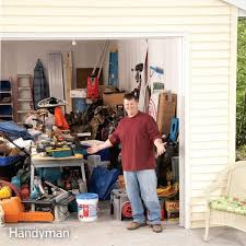 Build Wood Garage Storage by Building A Garage Storage Wall Family Handyman