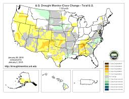Map Of Southwest Ohio Drought January 2018 State Of The Climate National Centers