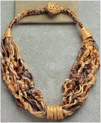 metal necklace designs images How to make fiber necklaces tutorials the beading gem 39 s journal JPG