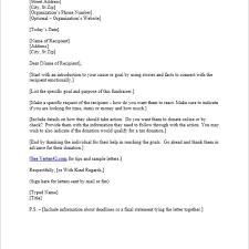 request for sponsorship letter sample template for gift box