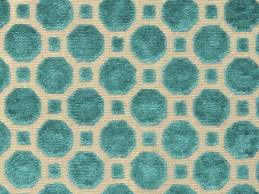 Upholstery Fabric Geometric Pattern Teal Velvet Fabric Textured Dark Teal Velvet Upholstery