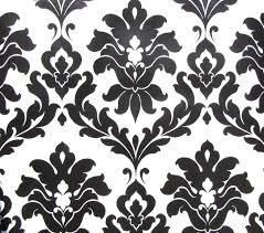 White And Black Wallpaper by Damask Wallpaper Pictures