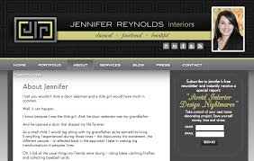 Jennifer Reynolds Interiors Pro Tips To Build A Beautiful Interior Design Website 8days