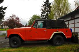 1973 jeep commando old parked cars 1972 jeep commando