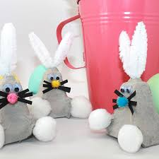 recycle your egg carton into a bunny easter craft parenting