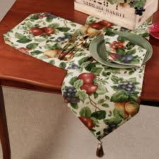 Kitchen Table Runners by Sonoma Fruit Table Linens